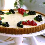Творожно-ягодный тарт