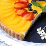 Сливочно-ягодный тарт