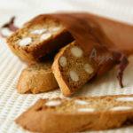 Имбирно-ореховые бискотти