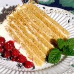 Польский медовый торт