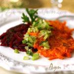 Морковные и свекольные латкес