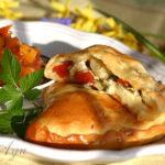 Кальзоне (Chicken-Artichoke Calzone)