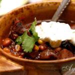 Чили с мясом и фасолью