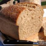 Пшеничный хлеб с Ирландской овсянкой