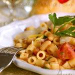Макароны с фасолью (Pasta Fagiole)