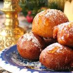 Пряные пончики с мёдом