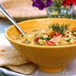 Кукурузный суп с крабовыми палочками (Spring Chowder)