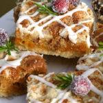 Абрикосовое бисквитное печенье