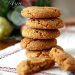 Пряное имбирное печенье (Gingersnap Cookies)