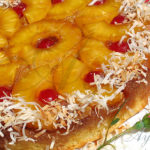 Перевёрнутый ананасовый пирог