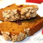 Тыквенно-медовый кекс