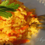 Рис-карри с морковью