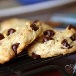 Бисквитное печенье с шоколадными каплями