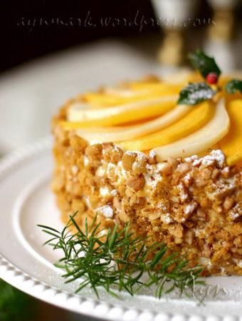 Тыквенно – медовый торт