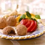 Шоколадно-ореховые трюфеля
