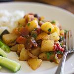 Картофельный рататуй